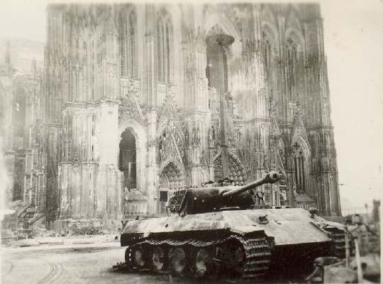 Battle for Cologne - tank duel - Video Cologn12