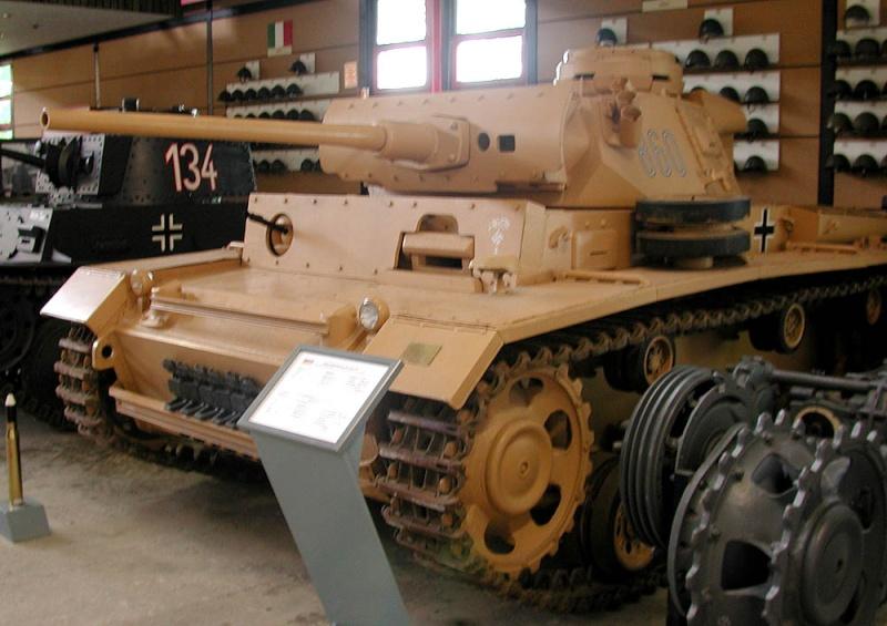 PzKpfw III  - Munster Museum - Germany Dscn1327