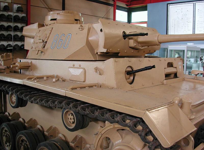 PzKpfw III  - Munster Museum - Germany Dscn1328