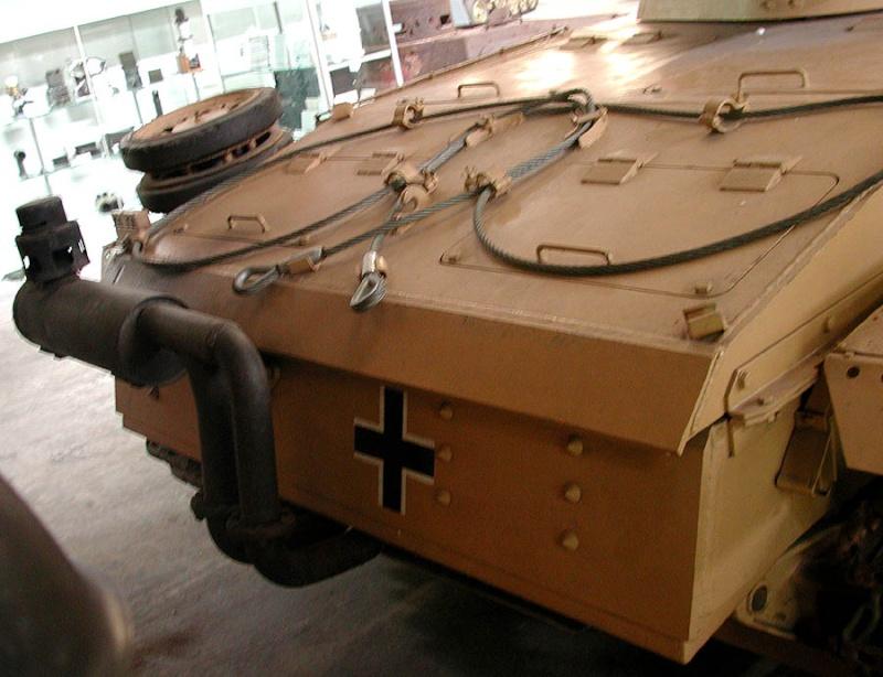 PzKpfw III  - Munster Museum - Germany Dscn1331