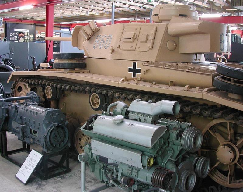 PzKpfw III  - Munster Museum - Germany Dscn1333