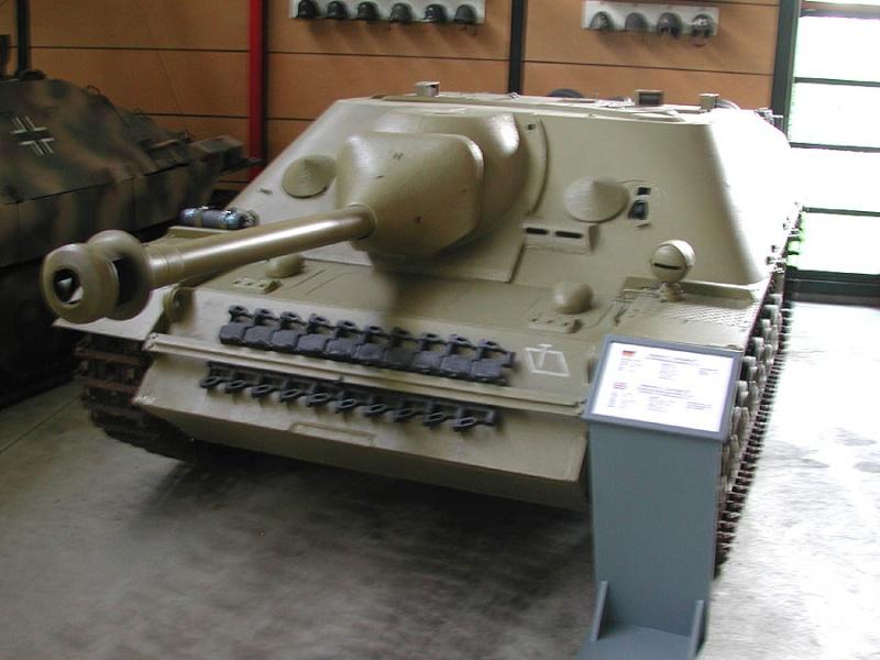 Jagdpanzer IV - Munster Museum - Germany Dscn1423