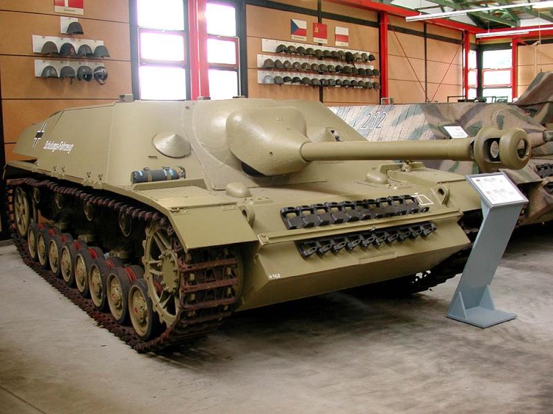Jagdpanzer IV - Munster Museum - Germany Dscn1610