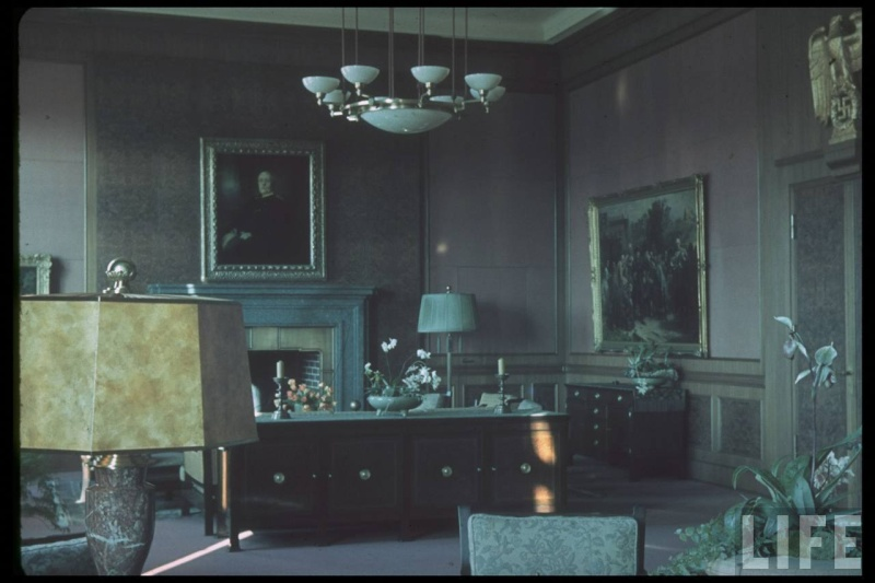 Führerbau interior in Münich Germany 1938 - photos couleurs Hitler11