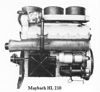 les Moteurs Maybach Hl210d10