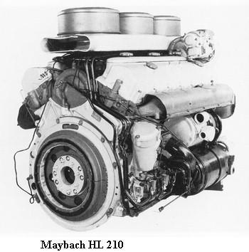 les Moteurs Maybach Hl210z10