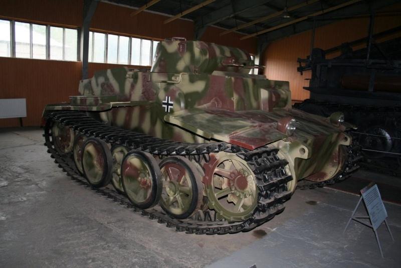 Pz II (F) - Kubinka Museum - Russie Img_7717