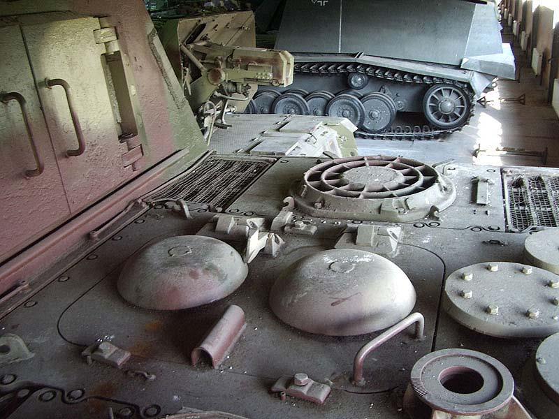 Jagdtiger - Kubinka Armor Museum - Russie Imgp3210