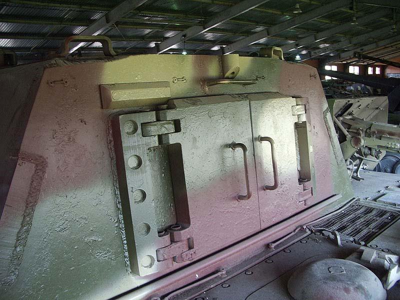 Jagdtiger - Kubinka Armor Museum - Russie Imgp3211