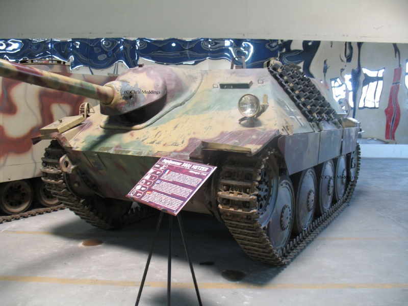 JAGDPANZER 38 HETZER G-13 - Saumur Museum - Fr Jagdpa11