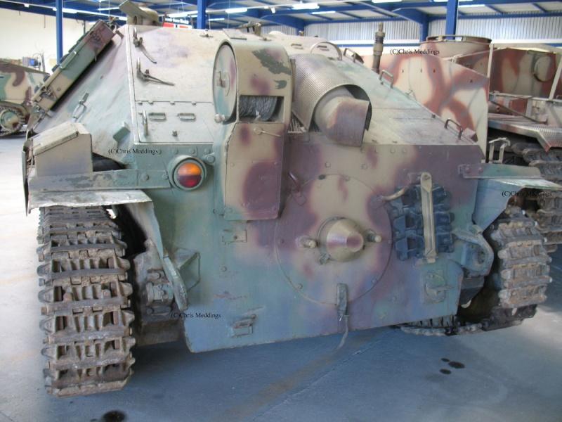 JAGDPANZER 38 HETZER G-13 - Saumur Museum - Fr Jagdpa14