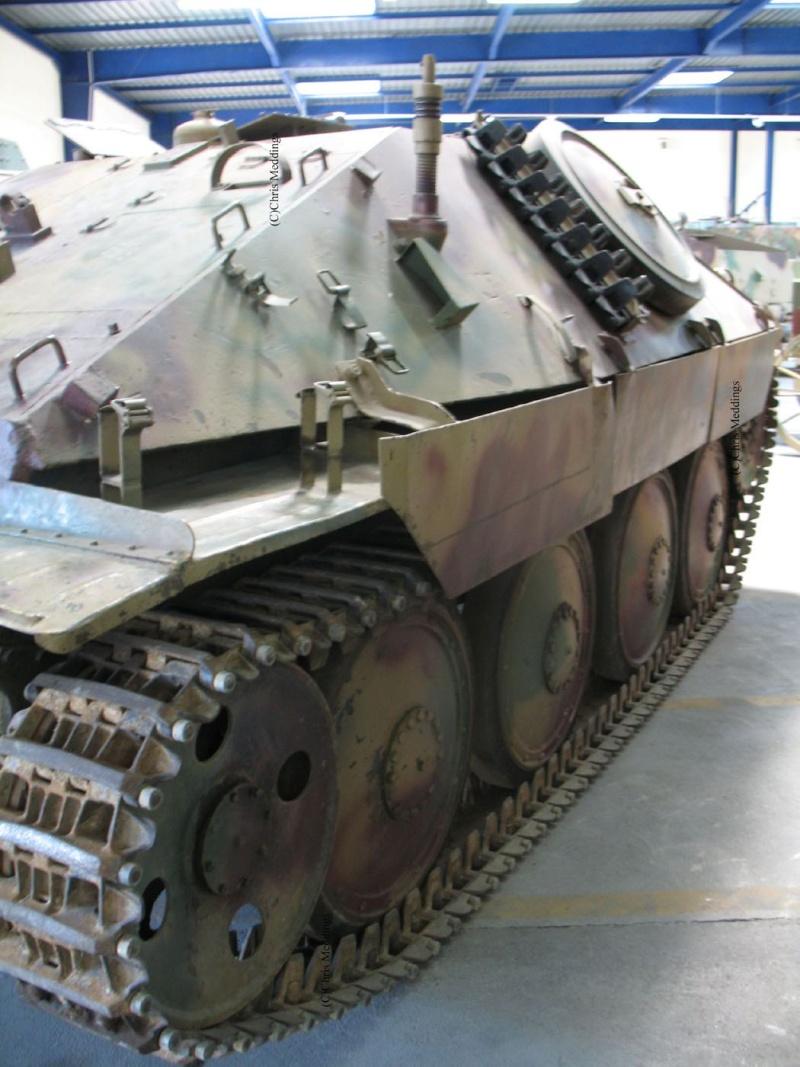 JAGDPANZER 38 HETZER G-13 - Saumur Museum - Fr Jagdpa17