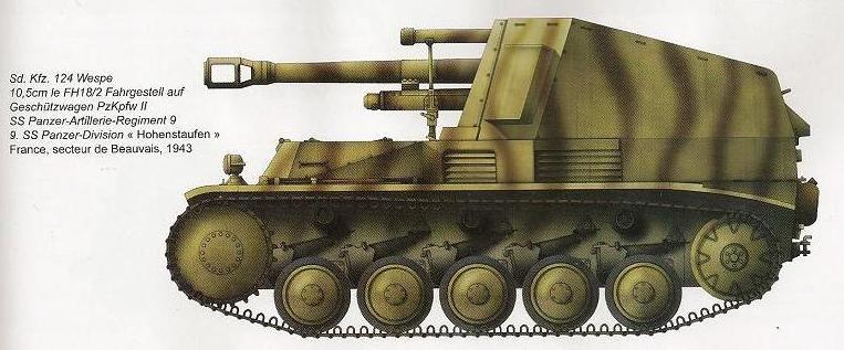 SdKfz 124  - Wespe Kj2010