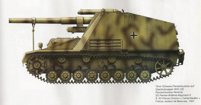 SdKfz 165 - Hummel Kj20d10