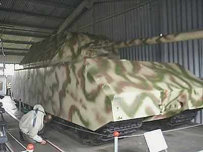 PzKpfw VIII Maus – Kubinka Tank Museum - Russia Kubink10