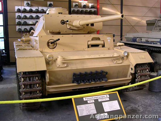 PzKpfw III  - Munster Museum - Germany Munste10