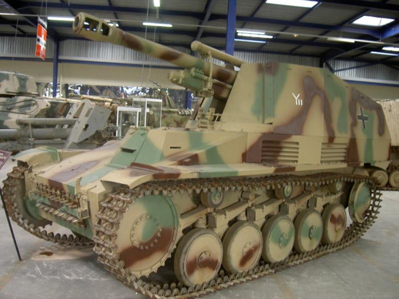 SdKfz 124  - Wespe Musee-10
