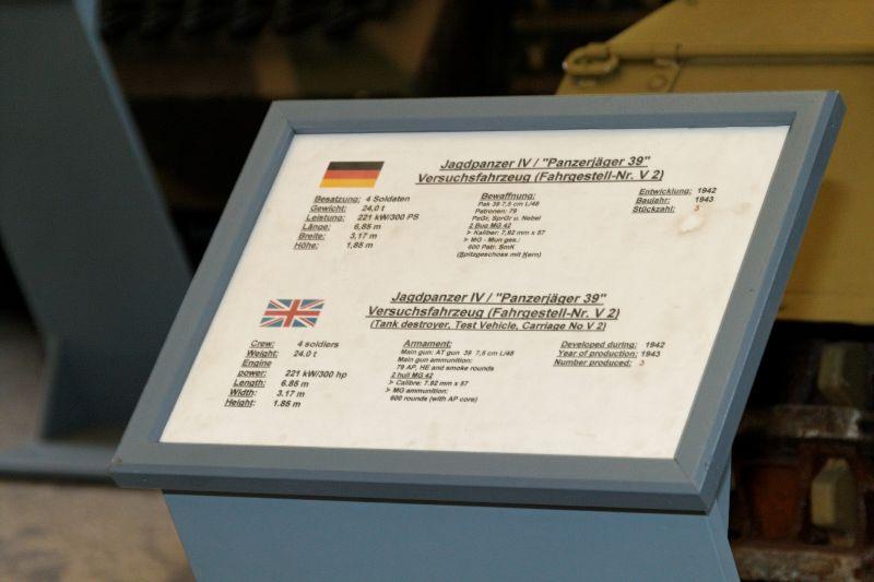 Jagdpanzer IV - Munster Museum - Germany Normal39