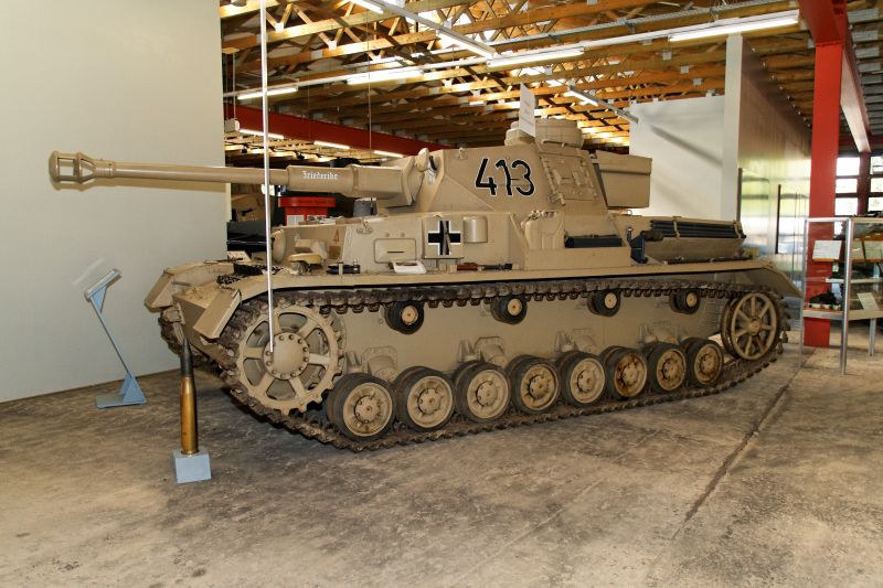 PzKpfw IV - Munster Museum - Germany Normal44