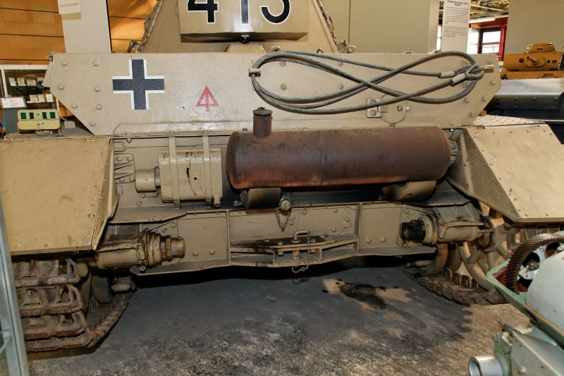 PzKpfw IV - Munster Museum - Germany Normal45