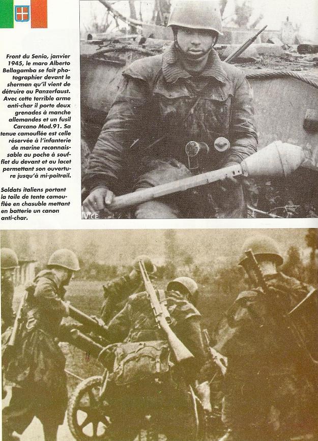 LA TOILE ITALIENNE dans l'armée Allemande - Doc Numari54