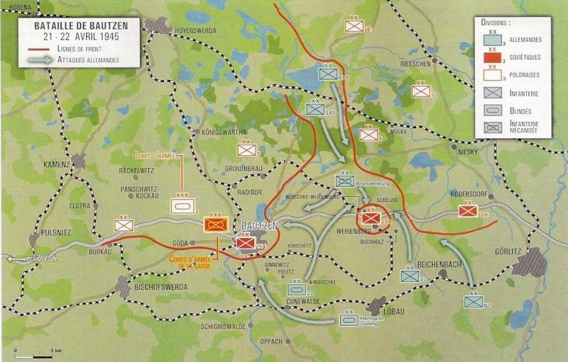 Bataille de Bautzen - Avril 1945 Numari74