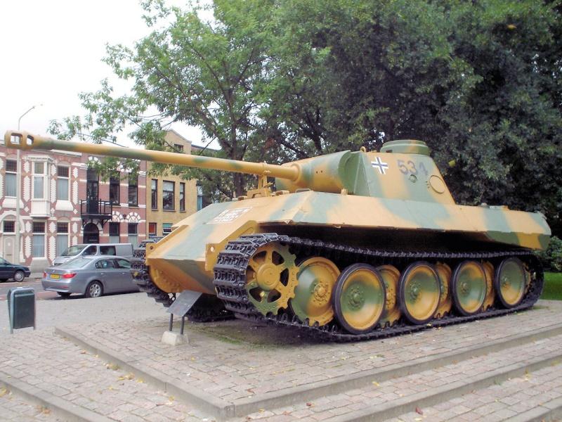 Panther Ausf. D - Breda - Holland Panthe47