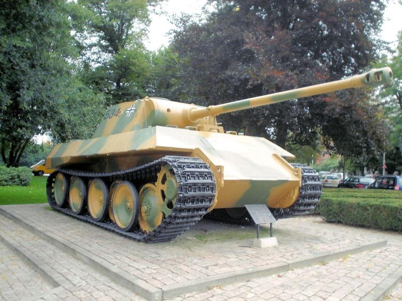 Panther Ausf. D - Breda - Holland Panthe49
