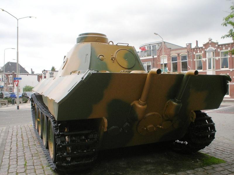 Panther Ausf. D - Breda - Holland Panthe50