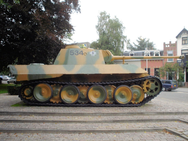 Panther Ausf. D - Breda - Holland Panthe51