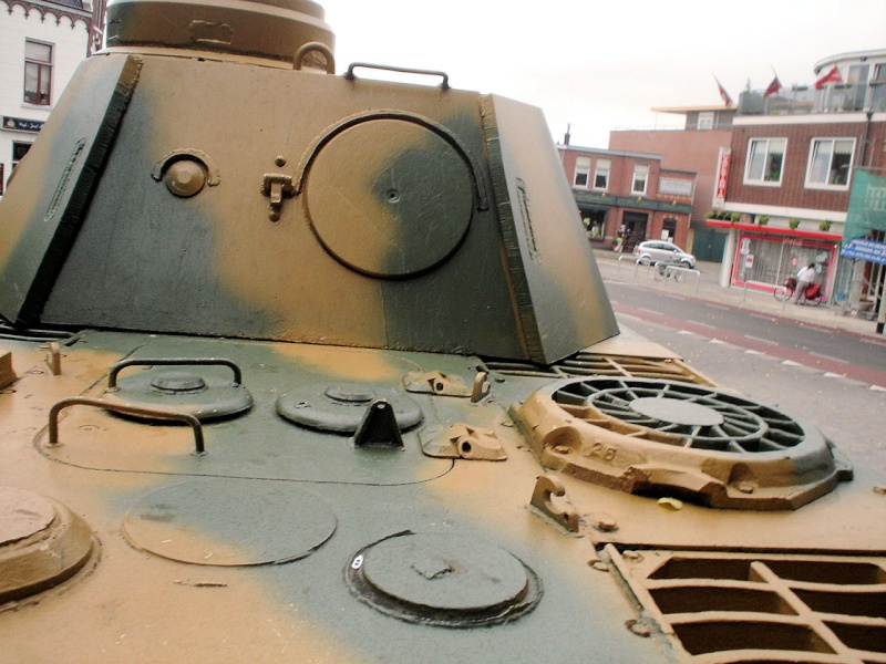 Panther Ausf. D - Breda - Holland Panthe52