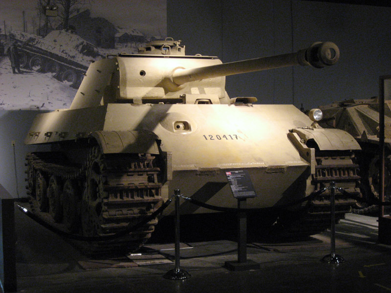 PzKpfw V Panther II - Patton Museum - USA Panthe55