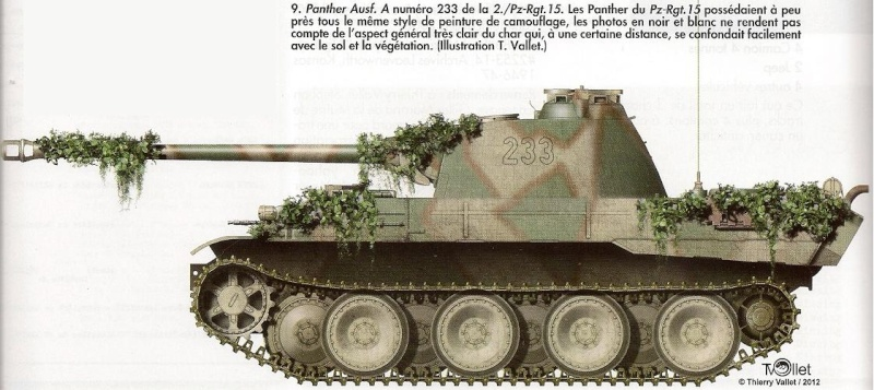 Effectif de La 11eme Panzer Division au 1er Septembre 1944 Panthe59