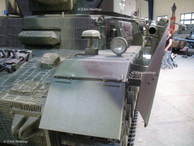PANZER IV AUSF. J - Saumur Museum - France Panzer22