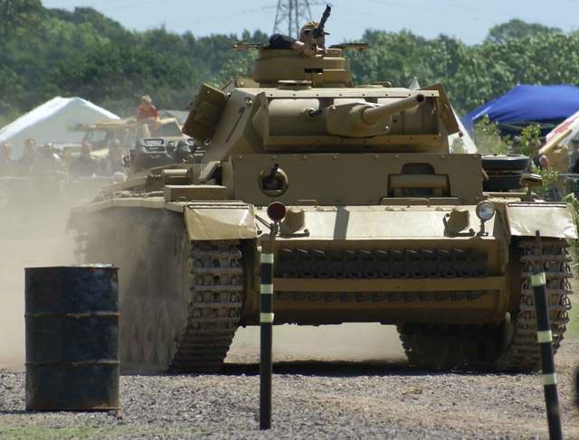 Panzer III - bovington Museum - UK Panzer36