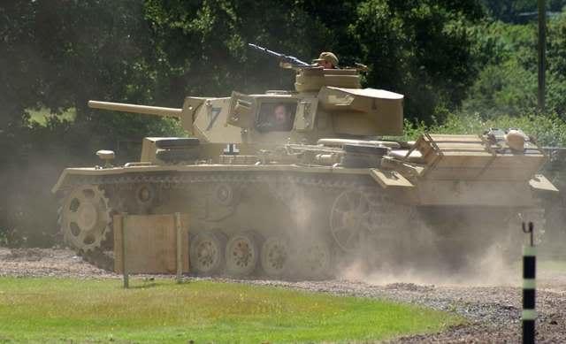 Panzer III - bovington Museum - UK Panzer37