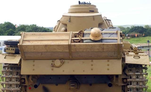 Panzer III - bovington Museum - UK Panzer40