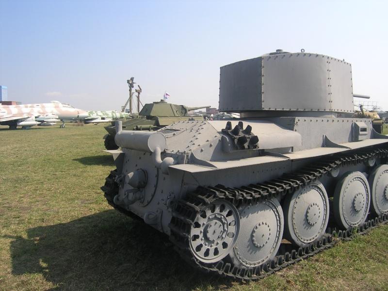 LT-38 (Panzer 38(t) - Technical museum in Togliatti - Russia Panzer42
