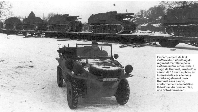 PANZER ARTILLERIE REGIMENT - Pz.Div. type 44 Panzer74