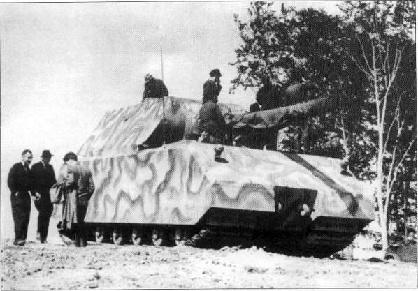 Sd.Kfz 205 - Panzerkampfwagen VIII Maus Panzer84