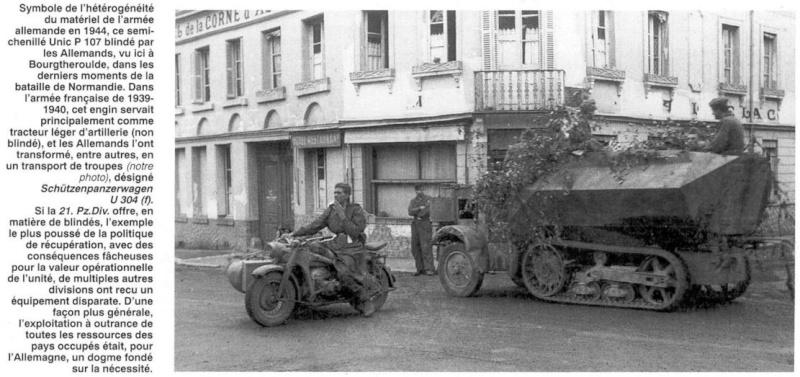 La Panzer Division type 44 Panzer91
