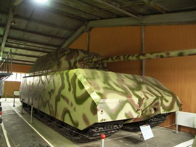 PzKpfw VIII Maus – Kubinka Tank Museum - Russia Pict0110