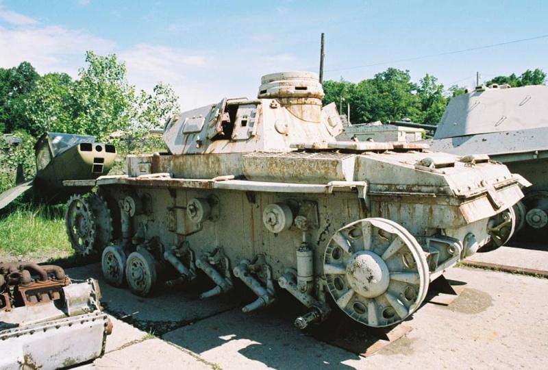 PANZER III AUSF F - Patton Museum - USA Pziii_10