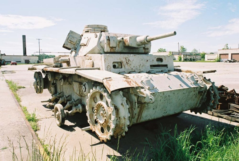 PANZER III AUSF F - Patton Museum - USA Pziii_11