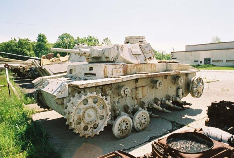 PANZER III AUSF F - Patton Museum - USA Pziii_12