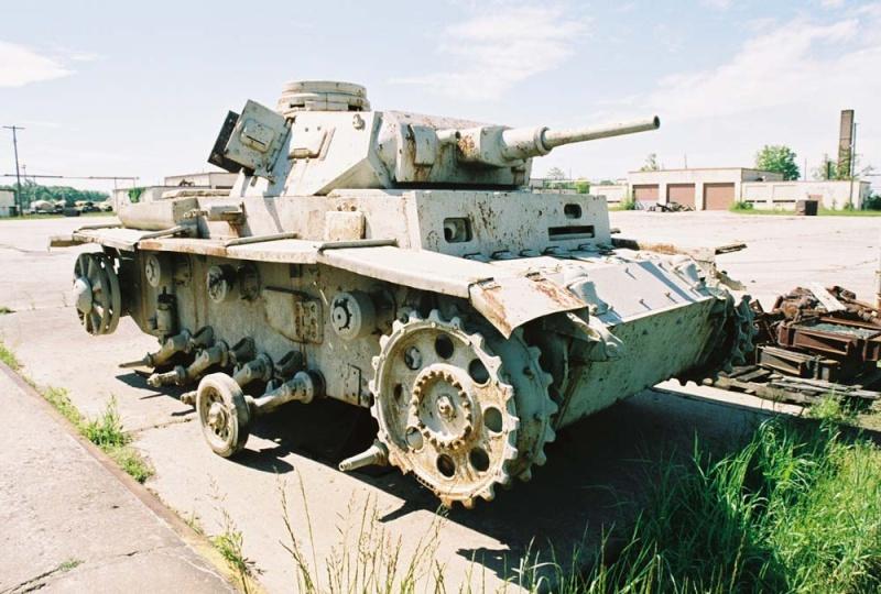 PANZER III AUSF F - Patton Museum - USA Pziii_13
