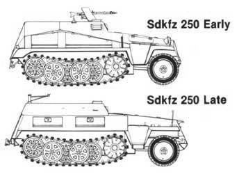 SdKfz 250 - Sonderkraftfahrzeug 250 Sd_kfz10