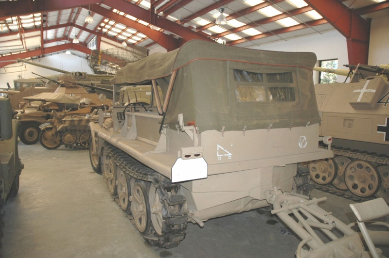 SDKFZ 10 - Californie - USA Sdkfz112