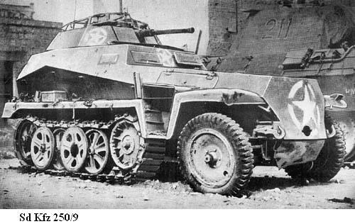 SdKfz 250 - Sonderkraftfahrzeug 250 Sdkfz216