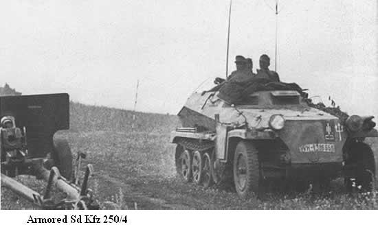 SdKfz 250 - Sonderkraftfahrzeug 250 Sdkfz217
